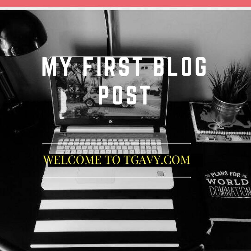 My First BlogPost