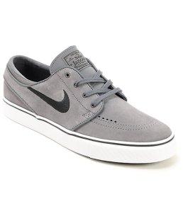 Nike-SB-Zoom-Stefan-Janoski-Grey-&-Black-Suede-Shoes-_234285
