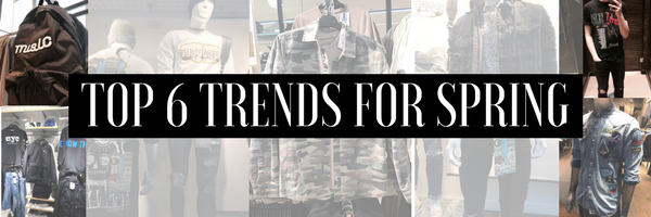 TOP 6 TRENDS FOR SPRING 2017