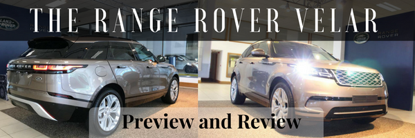 The New RANGE ROVER VELAR Preview and review