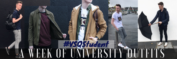 A WEEK OF UNIVERSITY OUTFITS with victoria square #VSQstudent