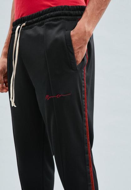 black-velvet-tape-tricot-knit-tracksuit-bottoms