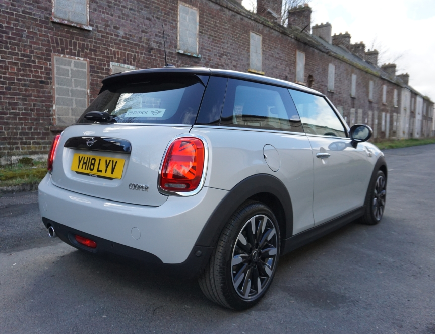 f56 rear MINI LCI FACELIFT TGAVY